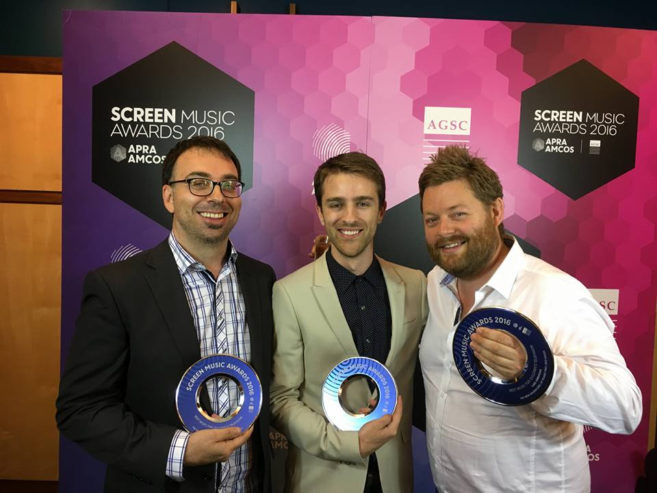 APRA Screen Music Awards Figaro Pho Win